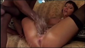German Frau riding a dick on the table for billiards