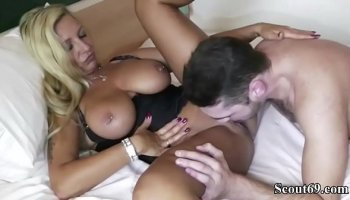 Luxurious mature chick and wild Japanese who fucks her