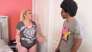 short hair blonde bbc threesome
