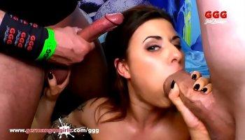madison parker sucks and fucks a huge cock