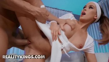 Moviestar with big tits has a dirty sex in the dressing room